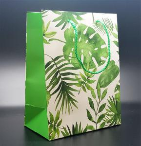 Presentpåse Jungle leafs (medium size)