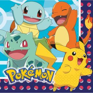 16-pack Pokemon servetter