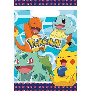 8-pack Pokemon plast presentpåsar