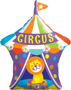 Circus folieballong