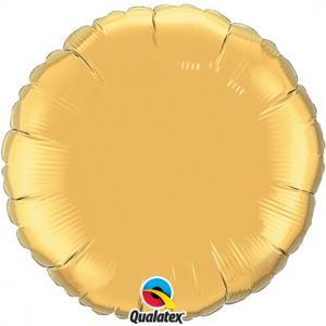 Cirkel Folieballong XL guld