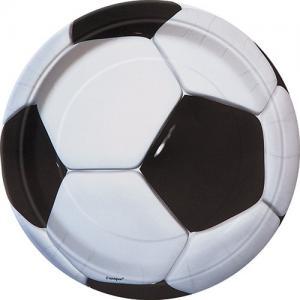 Fotboll tallrikar 17 cm