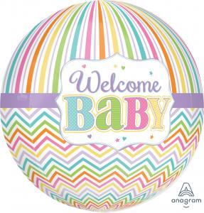 Welcome babyOrbz XL Folieballong