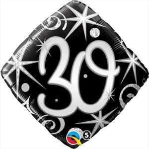 Folieballong Prisma 30