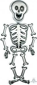 Skelett Airwalker ballong