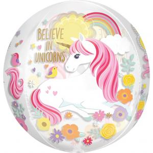 ORBZ belive in unicorns ballong