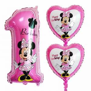 Mimmi Disney Heliumballong 1år med hjärta