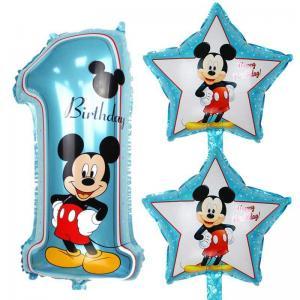 Musse Disney Heliumballong 1år med stjärnor