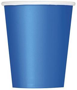 Engångsmuggar kunglig blå
