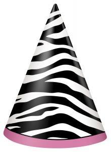 zebramönster pappershatt