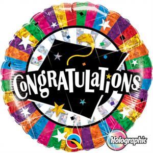 Heliumballong Congratulations Examenshatt