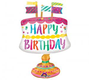 Happy birthday tårta