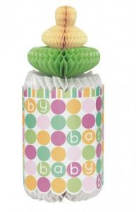 Babyshower Honeycomb Flaska
