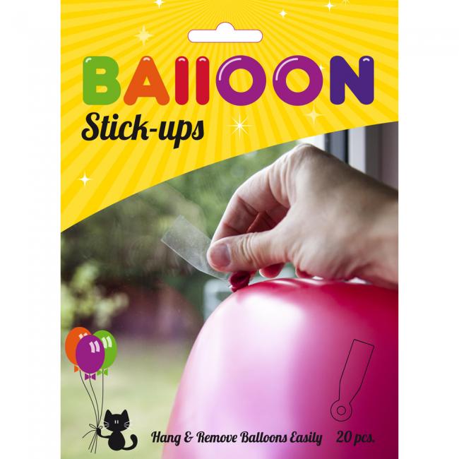 20 ballong stick ups