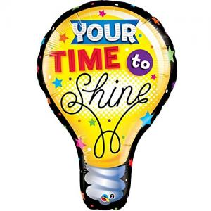 Heliumballong - Your time to shine