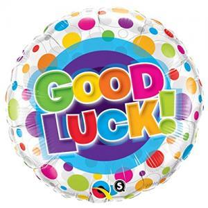 Good Luck folieballong