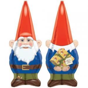 Stor birthday Gnome ballong