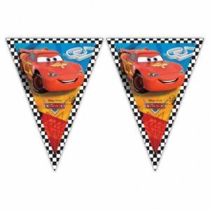 Cars/bilar Vimpel Girland
