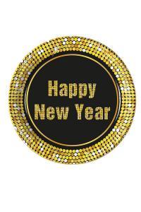 Happy new year tallrikar