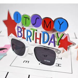 Glasögon Happy B-day