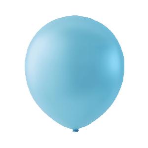 Mini Latexballonger  ljusblå