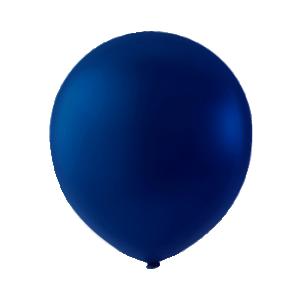 Mini Latex ballonger Marin blå