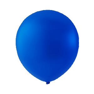 Mini Latexballonger  kungligblå