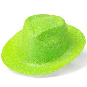 minihat cowboy neo glitter grön