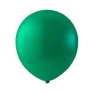 Mini Latexballonger  smaragdgrön