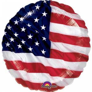 USA folieballong 43cm