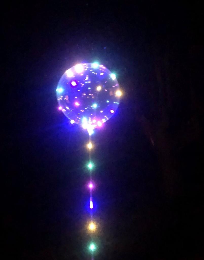 Ljusslinga till ballonger