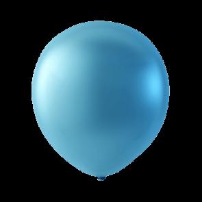 Mini Latexballonger Pärlemor Blå