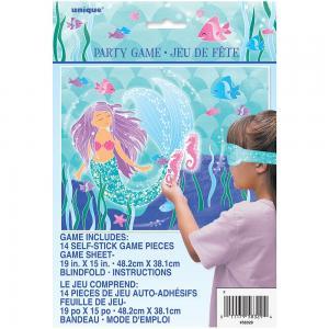 Lila sjöjungfru spel - Sätt på svansen