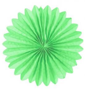 Solfjädrar dekoration 25cm limegrön