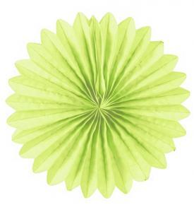 Solfjädrar dekoration 25cm pastellgrön