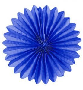 Solfjädrar dekoration 25cm mörkblå