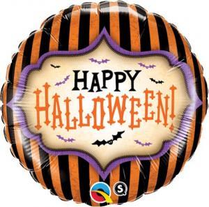 Folieballong happy halloween