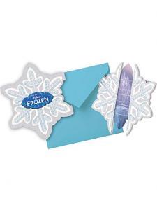 Frozen inbjudningskort