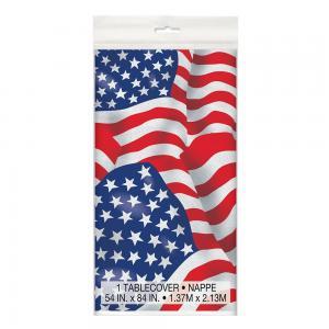 Bordsduk amerikanska flaggan