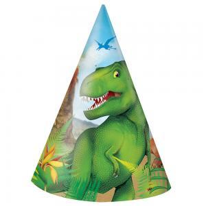 Dinosauriehattar 8-pack