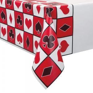 Casino bordsduk i plast 2.13m x 1.37m