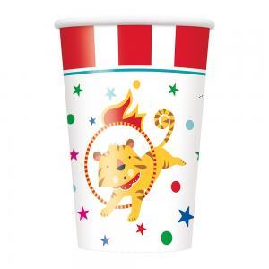 Circus karnival muggar 8-pack