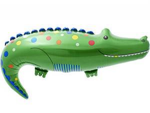 Krokodil folie ballong