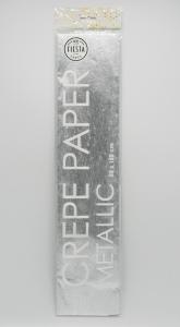 Crepe Papper Metallic Silver