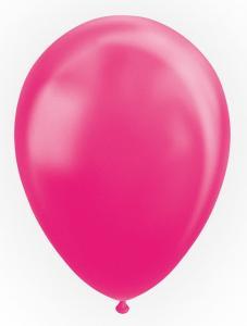Latexballonger, Pärlemor Cerise Rosa 10-pack