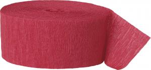 Streamer röd papper
