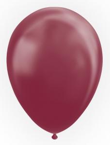 Latexballonger, Metallic Burgundy 10-pack