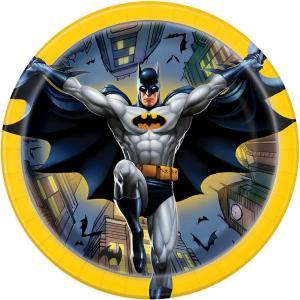 Batman papperstallrikar 8-pack 18cm