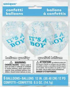 It´s a boy konfetti ballong