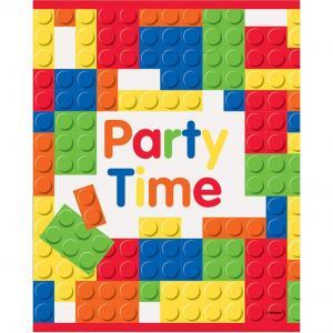 Lego bygg godispåsar 8-pack 23cm x 18cm